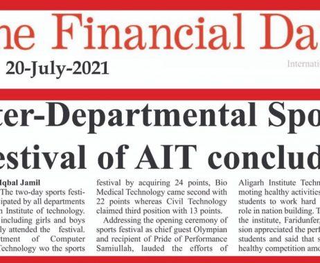 Inter-Departmental Sports Festival of AIT
